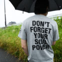 【WEB SHOP】【受注生産商品】DON'T' FORGET YOUR SOUL POWER ポケット付きTシャツ発売。